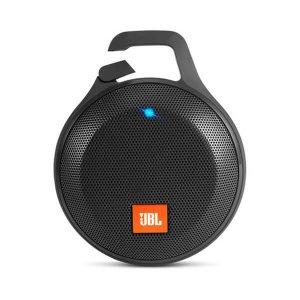 Ultraliviano Parlante portátil Bluetooth JBL clip+ resistente a salpicaduras con sujetador