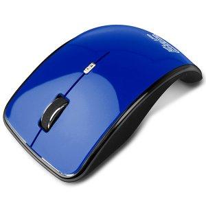 Mouse kurve óptico Klip inalámbrico