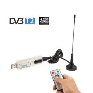 RECEPTOR DE SEÑAL TDT 2 TV PARA PC USB