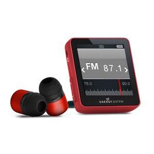 Energy MP4 Urban 4GB 2504 Ruby Red ( In-ear earphones, carrying case, FM Radio)
