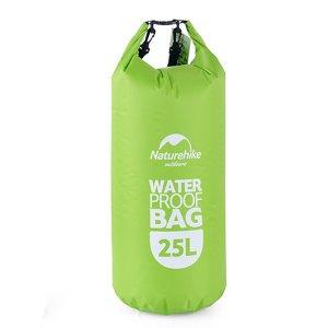 Bolsa multifuncional impermeable de 25L - Verde